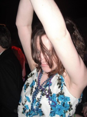 Me Dancing With Arms Up