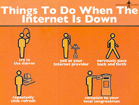 Internet Down Comic
